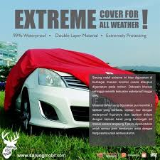 sarung cover mobil waterproof 99 full outdoor tipe extreme