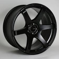 Details About 17x8 Enkei T6s 5x114 3 35 Black Rims Fits Mazda 3 Accord Rsx Tsx