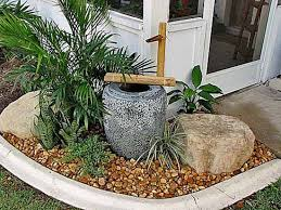 Small Picture small water feature Powered Water Fountain for Small Garden