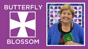 Make a Butterfly Blossom Quilt with Jenny! - YouTube &  Adamdwight.com