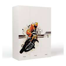 <b>Шкаф ABC</b>-<b>King</b> 3-х дверный <b>Extreme</b> Moto CL000024664354 ...