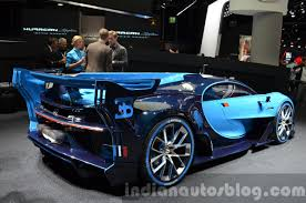 The car was unveiled at the 2015 frankfurt motor show, a month after its teaser trailer was released, which was titled #imaginebugatti. Bugatti Vision Gran Turismo Unveiled At Vw Group Night