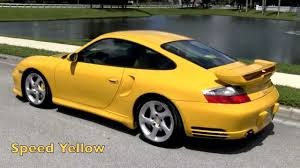 2003 Porsche 911 Carrera 996 RUF Turbo Speed Yellow Gulfstream ...