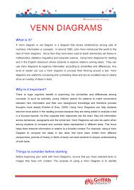 John Venn Venn Diagram Venn Diagrams Accelerating Literacy Learning