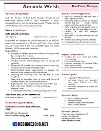 Real Estate Resume Sample – Lifespanlearn.info