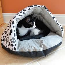 armarkat burrow pet bed sage green paw print
