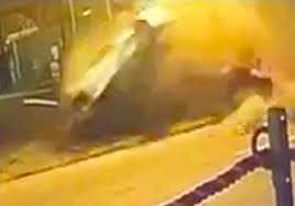 Horrifying Footage Shows Moment Errol Spence Was Ejected From Ferrari As Super Car Flipped Through The Air Mirror Online