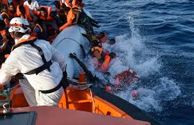 Image result for rescue boats blocked in med