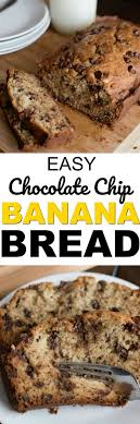 the best chocolate chip banana bread recipe this easy to make super moist banana bread recipe will be your go to recipe anytime you have overripe