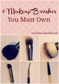 6 essential makeup brushes you must own mom s favorite stuff