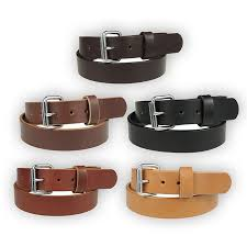 1 1 2 heavy duty leather work holster belt amish handmade by nohma