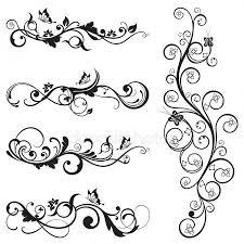 Tetování Ornament Stock Vektory Royalty Free Tetování Ornament