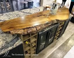 custom elm live edge in oh natural wood countertops of bathroom adorable wood for vanities on from natural countertops bar