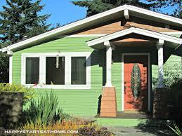 green exterior house paintExterior Paint Avoid paint emergencies  Rebecca West Interiors