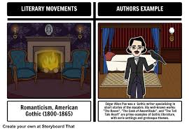 American Literary Movements American Authors Example Using