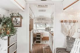 Airstream Interior Design Minimalist Best Decorating Design