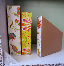 Magazine Holder From Cereal Box Magazine and Book Storage 88