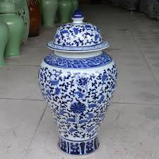 Decorative Jars And Vases Chinese reproduction ceramic ginger jars vase Antique Porcelain 73