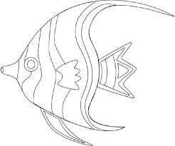 Small Picture Realistic Tropical Fish Coloring Pages Coloring Pages