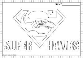Seattle Seahawks Free Coloring Pages Seahawks Seahawks Seattle