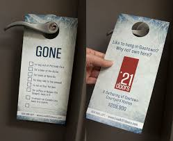 cool door hangers. Amazing Real Estate Door Hangers Ideas With Best Hanger Design Home Decorating Cool
