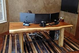 office desk wood. Office Desk Wooden. Beautiful Custom Wood Computer Images .