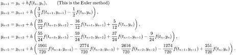 Linear multistep method - Wikipedia