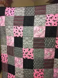 Pink & Black Skull quilt | Blanket ideas | Pinterest | Black ... & Pink & Black Skull quilt Adamdwight.com