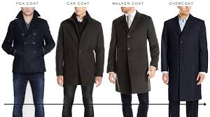 what s the difference between a pea coat car coat walker coat and overcoat