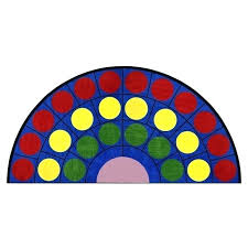 idea half circle rugs or lots of dots x semi circle rug 29 round rugs ikea