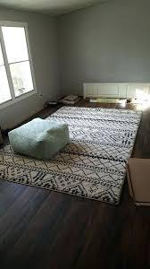 threshold area rugs rug gray fretwork jewel tone 7x10
