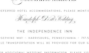 Hotel Accommodations Cards Wedding Invitations Hotel Accommodation Cards Template Home