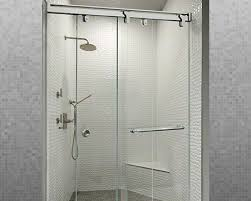 contempo series bypass sliding shower door system