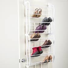 3 tier stackable wood shoe rack shoe racks at wall mount shoe rack