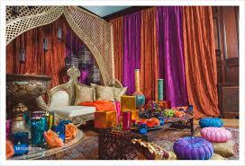Moroccan Inspired Sangeet Decor Partyland Wedding Photographer