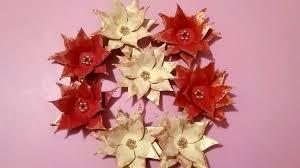 Steaua de Craciun din carton de oua--<b>Christmas star</b> of <b>Egg</b> Carton ...