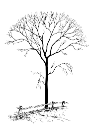 Small Picture Coloring page bare tree img 11331