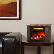 lifepro lifesmart 750 watt infrared quartz mini wood fireplace space