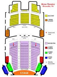 Bijou Seating Chart Prototypic Bijou Theatre Knoxville Seating Chart 2019