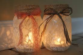 Decorating With Mason Jars And Burlap DIY Mason Jar Luminaries Adventures of a Middle Sister 60