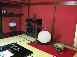 Japanese Living Room Red And Black Japanese Living Room Interior Diversity