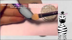 3D Cameo Acrylic Nail Art Design Tutorial Chrome Powder (REQUEST ...