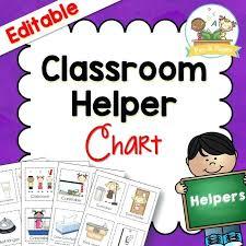 Preschool Job Chart Signs Achievelive Co