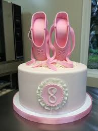 cakes for girls 8th birthday. Interesting Cakes Ballet Slippers For A Little Girls 8Th Birthday On Cake Central To Cakes 8th L