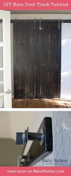 Diy Barn Door Track Best 20 Barn Door Track Ideas On Pinterest Track Door Sliding