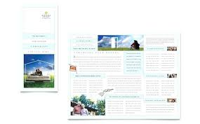 Brochure Template Tri Fold Trifold Brochure Template Business Fold Design With Turquoise Color