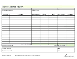 Expense Report Template Excel Free Simple Expense Report Template Income And Expenses Excel