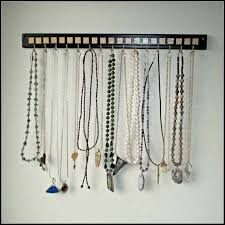 necklace organizer wall view larger gold square necklace holder hanger organizer wall