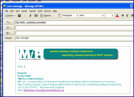 Template Email Outlook Creating Email Templates Look More Professional In Your