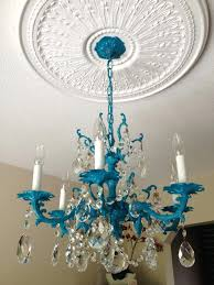 how to paint a chandelier without taking it down ceiling chalk paint brass chandelier
